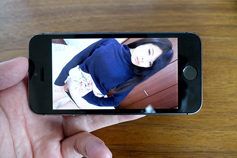 無毛宣言の動画をiPhoneで見る