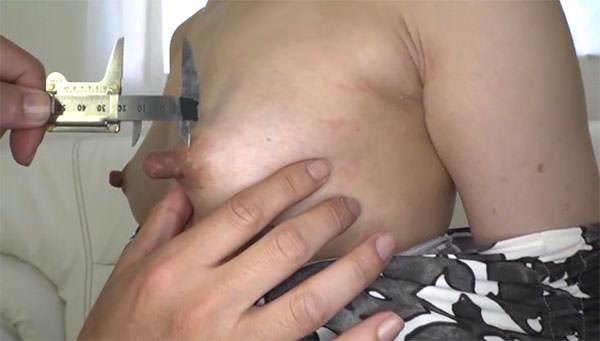 倉田江里子さんの乳首は2.8cm