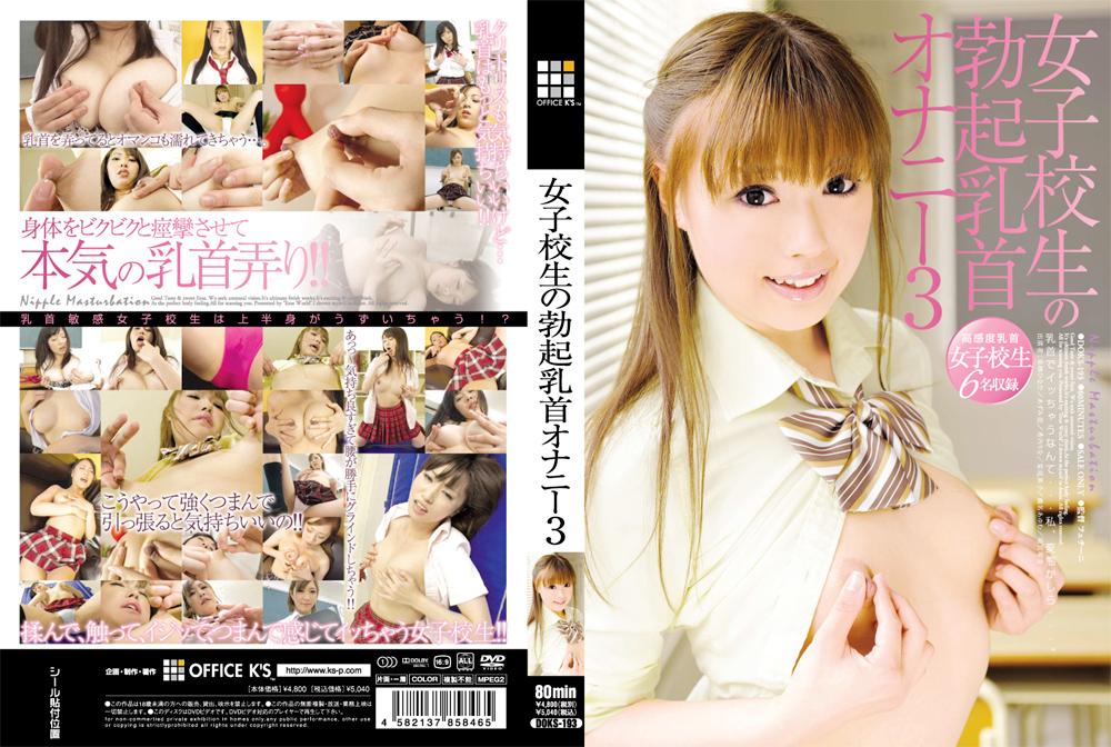 「女子校生の勃起乳首オナニー 3」のパッケージ