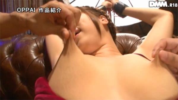 Jカップの乳首を引き伸ばされる椎葉みくる