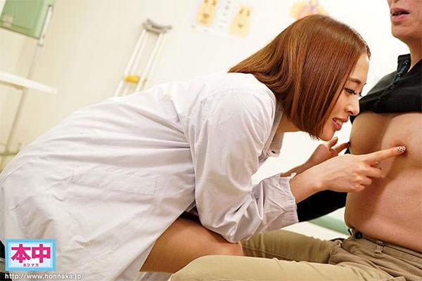 本田岬さんの乳首専門女医