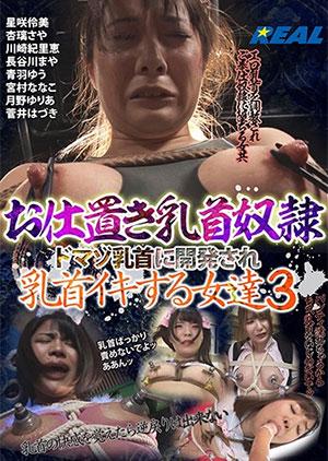 「お仕置き乳首奴隷 ドマゾ乳首に開発され乳首イキする女達 3」のパッケージ