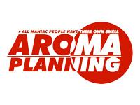 アロマ企画のロゴ